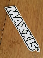 Maxxis - bicycle sticker/decal - tires (white)