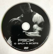 New P90X Replacement Dvd Disc 10 Back & Biceps Tony Horton Beachbody Fitness