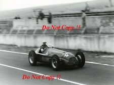 Juan-Manuel Fangio Alfa Romeo 159 french grand prix de Reims 1951 photographie 1