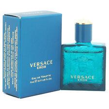2 Pack Versace Eros by Versace for Men - 0.17 oz EDT Splash (Mini)
