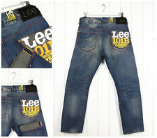 NEW LEE 101B  JEANS 13oz   SELVEDGE STRAIGHT LOOSE FIT Vintage W33 W34 W32/L32