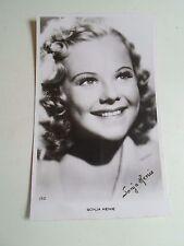 Vintage RP Postcard SONJA HENIE Norweigan Film Star and Figure Skater  1912-1969
