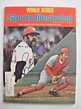 LUIS TIANT signed RED SOX 1975 Sports Illustrated baseball magazine AUTO CUBA WS