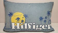 TOMMY HILFIGER Longboard Surf PILLOW Cotton New w Tags