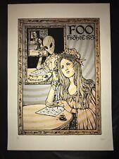 BRIAN EWING Art Print Foo Fighters Clarkston Poster lithograph