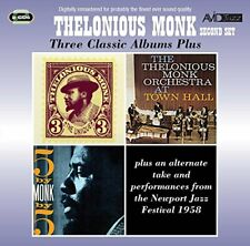 Thelonious Monk - Three Classic Albums Plus (The Unique Thelonious [CD]