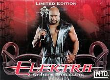 ELEKTRA Marvel Comics BOB SAPP K1 Beast MMA Movie Prop Replica STONE'S BRACELET