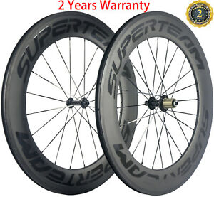 700C 88mm Depth Carbon Wheels 23mm Width Basalt Brake Surface Cycle Wheelset 3k