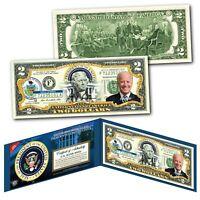 JOE BIDEN * Presidential Series #46 * Official Legal Tender $2 Bill w/ Folio