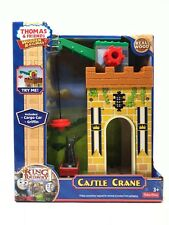 Thomas the Train and friends Wooden Railway Castle Crane cargo Christmas gift