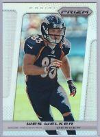 2013 Panini Prizm Wes Welker #79 SILVER PRIZM SP Broncos
