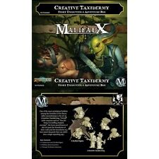 Wyrd Miniatures Malifaux BNIB Creative Taxidermy Set Story Encounter WYR20905