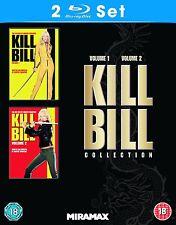 BLU-RAY KILL BILL 1 AND 2 BOXSET     BRAND NEW SEALED UK STOCK