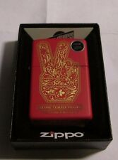STONE TEMPLE PILOTS ZIPPO LIGHTER AUTHENTIC 2016 LICENSED ROCK N ROLL RED