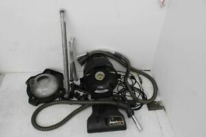 FAULTY RAINBOW E-2 Black Canister Speed Deep Cleaning Vacuum Cleaner