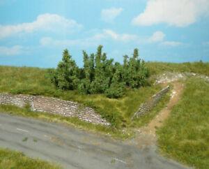 Heki 1725 / 10 Büsche 3 cm -neu-