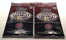 2012 Topps Baseball Pro Debut Factory Hobby Pack 8 Cards Bryce Harper ?