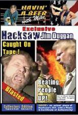 Hacksaw Jim Duggan Caught on Tape! DVD, WWF WCW WWE NWA