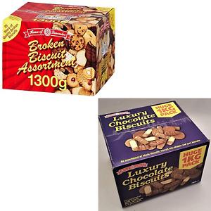 House Of Lancaster Broken Biscuit Assortment Plain & Luxury Chocolate Combo
