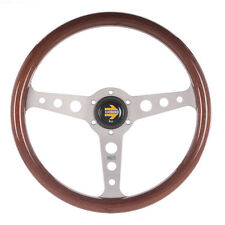 Momo Indy 350mm Wooden Steering wheel Retro style