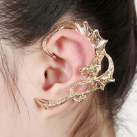 Retro Gothic Rock Punk Dragon Shape Ear Cuff Earring Earrings Women Men JeweDAD