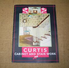 VINTAGE CURTIS CABINET AND STAIR WORK CATALOG BOOKLET 1930's 48 PAGES ORIGINAL