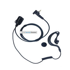 Motorola MTH600 MTH658 MTH800 MTH859 Airwave & Police G shape earpiece Free P&P