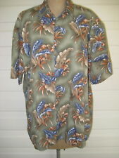 Campia Moda Mens S/Sl Hawaiian Shirt. 100% Cotton. Size L