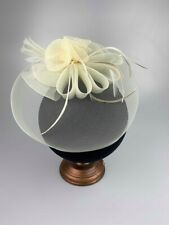 Cream Veil Fascinator Ladies Headpieces Hats Wedding Guest Fascinators Race Day