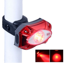 3W Cree Red LED Bicycle Light IPX5 Bike Cycling USB Rechargeable Rear Taillight