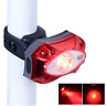 3W Red LED Bicycle Light IPX5 Bike Cycling USB Rechargeable Rear Taillight