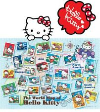 Hello Kitty Jigsaw Puzzle 1000 Pieces The World Map World Trip and World Stamps