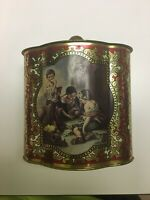 Vintage Metal Tin Container Made In Western Germany