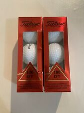 Titleist Dt 100 Golf Balls: New. 6 balls .# 2.3
