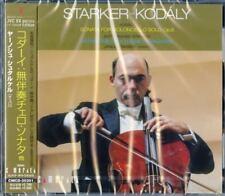 JANOS STARKER-KODALY: SONATE POUR VIOLONCELLE SEUL. ETC.-JAPAN CD E25