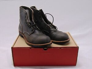 Red Wing Iron Ranger 8086 Men's Work Boots, US Size 9