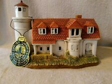 1994 Geo. Z. Lefton Hand Painted #01335 Point Betsie  Lighthouse Portable Lamp
