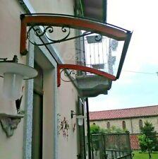 Abris de bois DIY d'entrée fenêtre - Auvent banne entrée -Plantilla LEGNO RICCIO