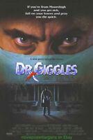 DR GIGGLES MOVIE POSTER Original 27x40 1992 HORROR FILM LARRY DRAKE