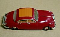 1/43 DAIMLER 2.5 V8 SEDAN W/ ROOF OPENING MAROON SMTS FACTORY BUILT WHITE METAL