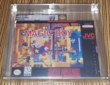 Magic Boy Super Nintendo SNES New Sealed Mint GOLD VGA 90