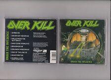 Overkill    under  the  influence       CD  MEGAFORCE  1988
