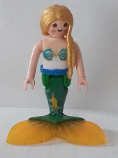 Playmobil personnage sirène pour princesse fond marin fée château