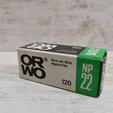 ORWO NP22 120 EXPIRED ISO 125 ASA B&W PHOTO FILM REFRIGERATED