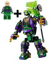LEGO LEX LUTHOR MINIFIGURE & BATTLE MECH BUILD ONLY 76097 DC SUPERHEROES