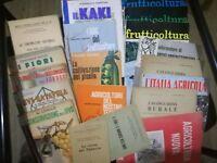lotto 20 pezzi riviste e libri agricoltura enologia orticoltura