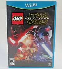 LEGO Star Wars The Force Awakens Nintendo Wii U Game Complete