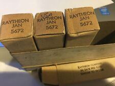 Raytheon JAN- 5672 Tube NOS/NIB/  LOC D1-1