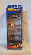 Hot Wheels World Racers 21084 1998 5 Car Gift Pack Mattel New (B3)