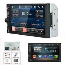 7in Touch Screen Car FM Stereo Radio Multimedia MP5 Player Bluetooth AUX Input